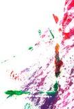 Mão abstrata pintura/gráficos desenhados imagem de stock