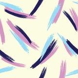 Mão abstrata teste padrão tirado da escova ilustração royalty free