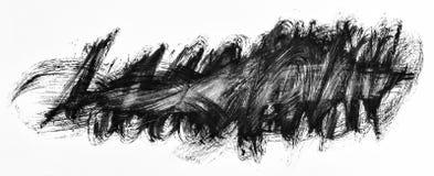 Mão acrílica curso abstrato brilhante tirado, fundo do respingo ilustração stock