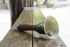 Mão Bell imagens de stock