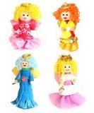 Mão - bonecas feitas Foto de Stock Royalty Free