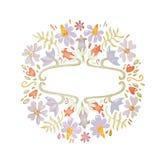 Mão bonita lindo quadro botânico festivo floral tirado da ilustração do desenho de esboço do lápis fotos de stock