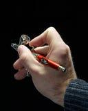 Mão com airbrush Imagem de Stock