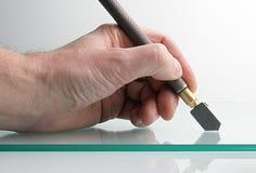 Mão com ferramenta Imagens de Stock