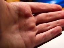 Mão completamente Fotos de Stock Royalty Free