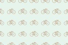 Mão conceptual abstrata esboço tirado da bicicleta Detalhes, superfície, lona & desenho ilustração stock