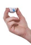Mão, copo Imagem de Stock Royalty Free