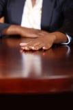 Mão corporativa Fotografia de Stock