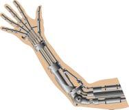 Mão Cybernetic Foto de Stock Royalty Free