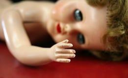 Mão da boneca Fotos de Stock