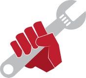 Mão da chave Fotografia de Stock Royalty Free