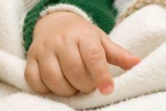 Mão da criança Fotografia de Stock Royalty Free