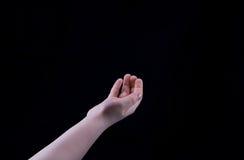 Mão da criança Foto de Stock Royalty Free