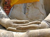 Mão da imagem de Buddha Imagem de Stock Royalty Free