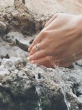 Mão da lavagem Foto de Stock Royalty Free
