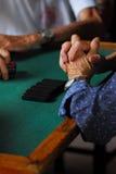 Mão da mulher adulta Imagem de Stock Royalty Free