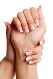 Mão da mulher de Beautifull. Imagem de Stock Royalty Free