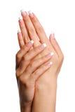Mão da mulher de Beautifull. Fotografia de Stock