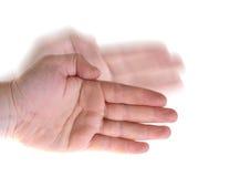 Mão da onda do karaté foto de stock royalty free