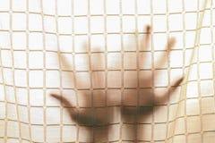 Mão da sombra fora fotos de stock royalty free