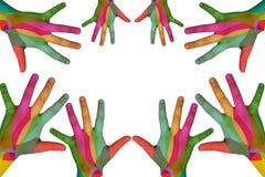 Mão das crianças Fotografia de Stock Royalty Free