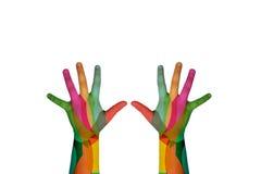 Mão das crianças Imagem de Stock Royalty Free
