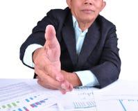 Mão de alargamento à agitação Imagem de Stock Royalty Free