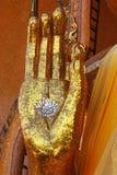 Mão de Buddha Imagens de Stock