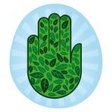 Mão de Eco Imagens de Stock Royalty Free
