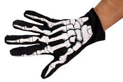 Mão de esqueleto fotos de stock