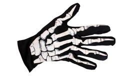 Mão de esqueleto imagem de stock