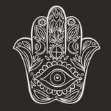 Mão de Hamsa Foto de Stock