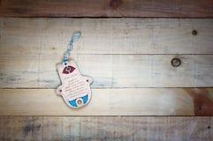 Mão de Hamsa. Amuleto de Médio Oriente e de Norte de África imagem de stock