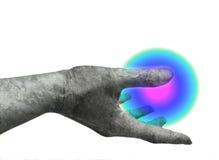 Mão de mármore Foto de Stock Royalty Free
