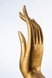 Mão de madeira Fotografia de Stock