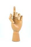 Mão de madeira Fotos de Stock