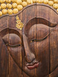 Mão de madeira - feita Foto de Stock Royalty Free