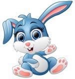 Mão de ondulação do coelho bonito Imagem de Stock