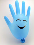 Mão de sorriso Fotos de Stock