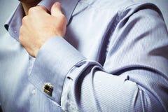 Mão de um homem Foto de Stock Royalty Free