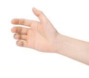 Mão de um homem Fotos de Stock
