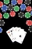 Mão de vencimento Imagem de Stock Royalty Free