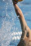 Mão de Waterpolo Fotografia de Stock