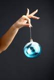 Mão do ano novo Fotografia de Stock Royalty Free