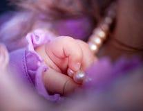 Mão do bebé