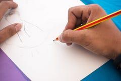 Mão do desenho Imagens de Stock