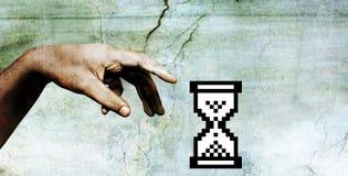 Mão do deus Imagens de Stock Royalty Free