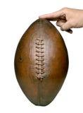 Mão do futebol Imagens de Stock