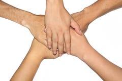 Mão do grupo. Foto de Stock Royalty Free