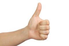 Mão do homem Imagens de Stock Royalty Free